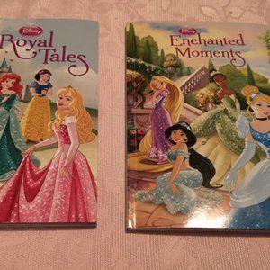 Set of 2 Disney Princess Storybooks